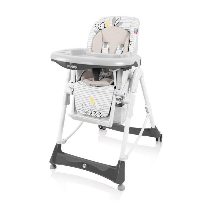 Jídelní židlička Baby Design Bambi 2017 - 07 gray
