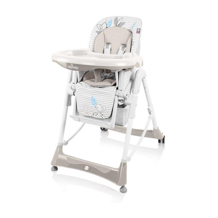 Jídelní židlička Baby Design Bambi 2017 - 09 beige