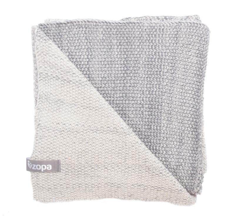 Zopa Dětská deka Melange - Grey