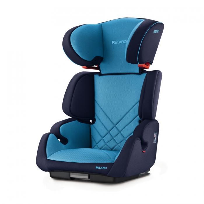 Autosedačka Recaro Milano SeatFix 2017 - Xenon Blue