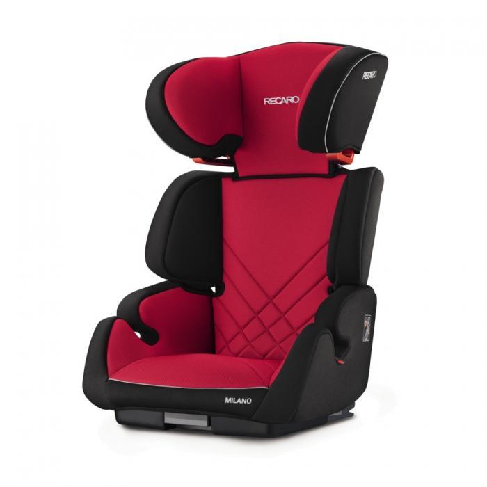 Autosedačka Recaro Milano SeatFix 2017 - Racing Red