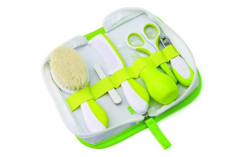 Nuvita kosmetická sada pro miminka - zelená