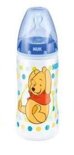 Nuk First Choice+ láhev Medvídek Pú 300 ml - modrá
