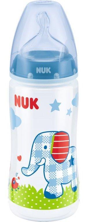 NUK First Choice+ PP láhev Baby Glück, 300 ml - modrá
