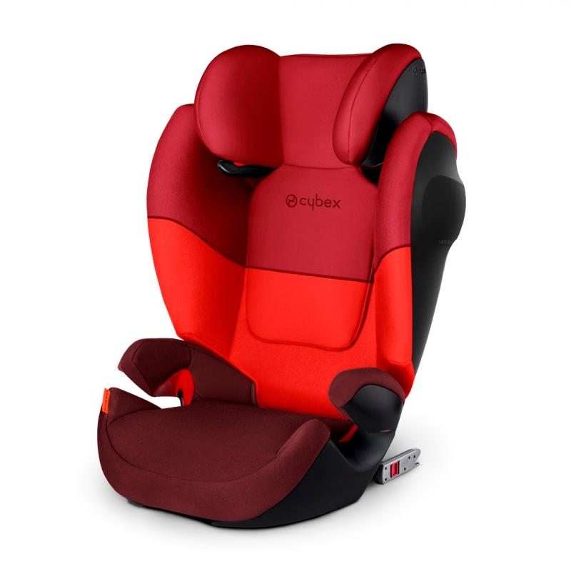Autosedačka Cybex Solution M-fix SL 2018 - Rumba Red