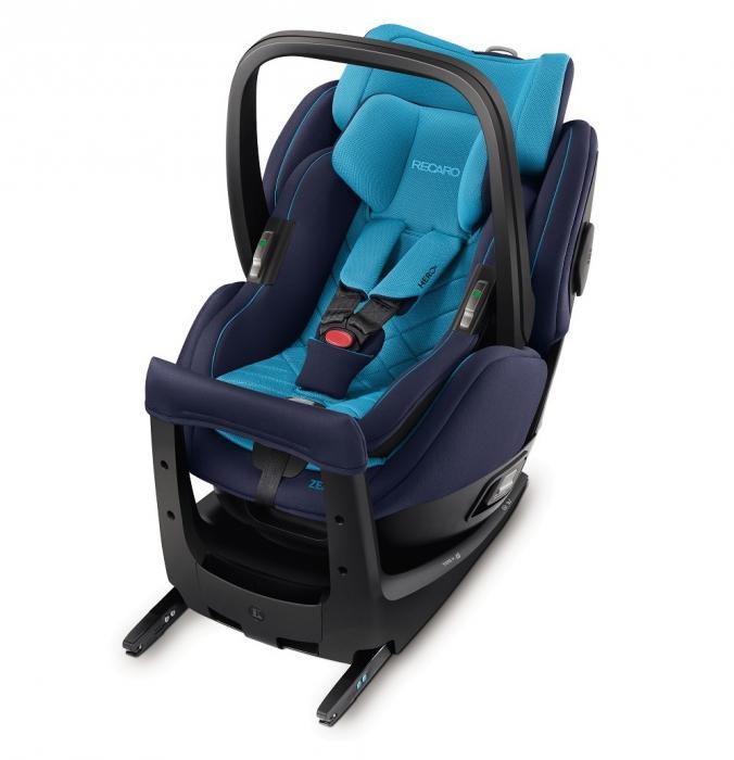 Autosedačka Recaro Zero.1 Elite i-Size 2017 - Xenon Blue