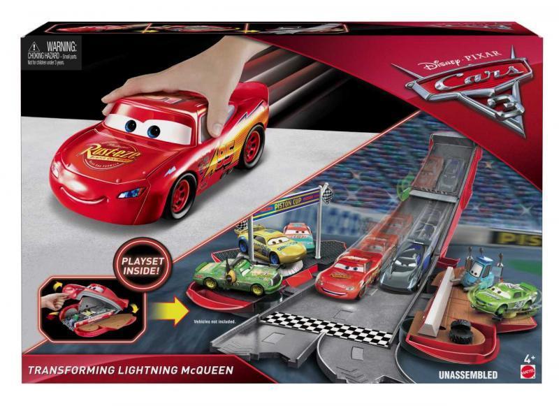 Mattel Cars 3 Transformující se Auta - McQueen