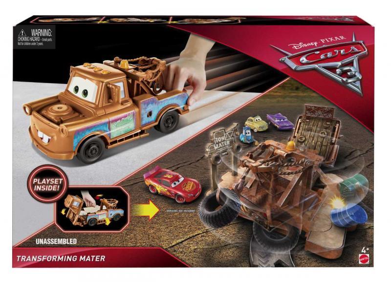 Mattel Cars 3 Transformující se Auta - Mater