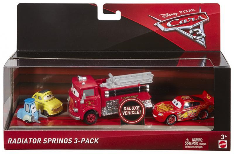Mattel Cars 3 Auta 3ks - Radiator Springs