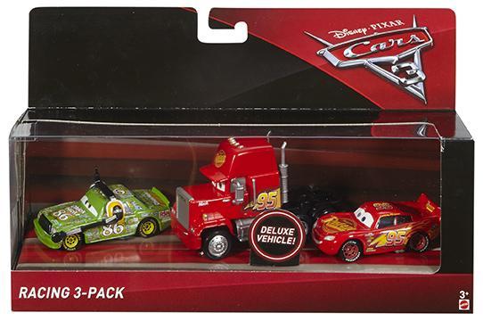 Mattel Cars 3 Auta 3ks - Racing