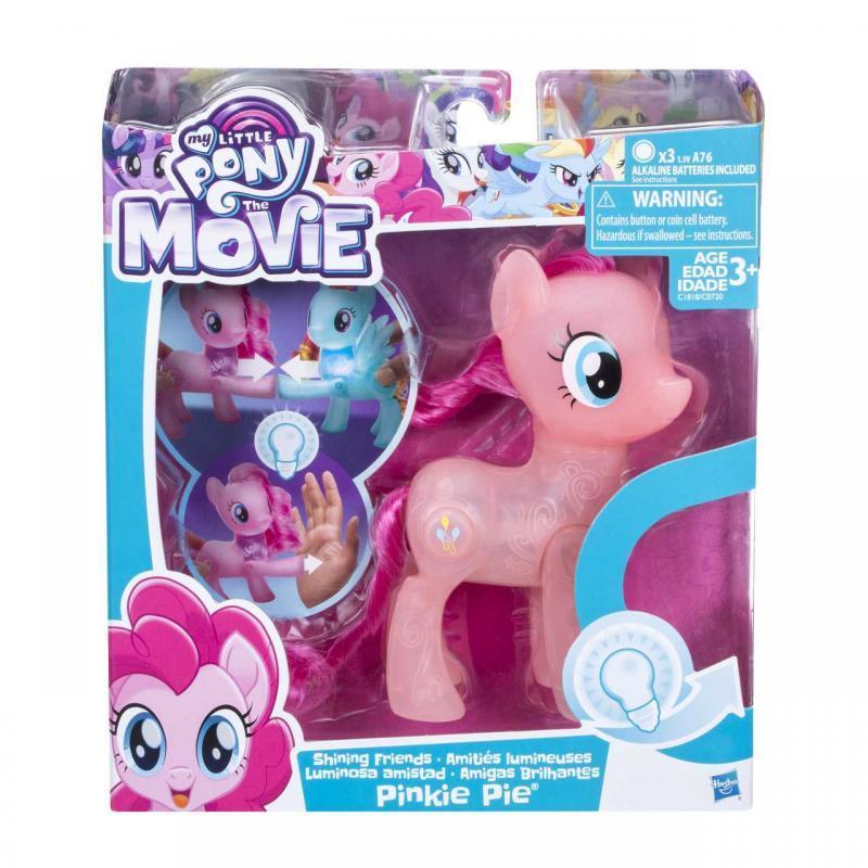 Hasbro My Little Pony Svítící pony - Pinkie Pie