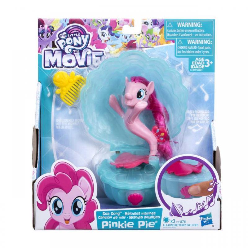 Hasbro My Little Pony Zpívající mořský poník s doplňky 7,5cm - Pinkie Pie