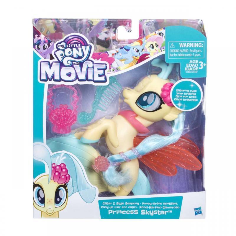Hasbro My Little Pony Mořský poník s módními doplňky 15cm - Princess Skystar