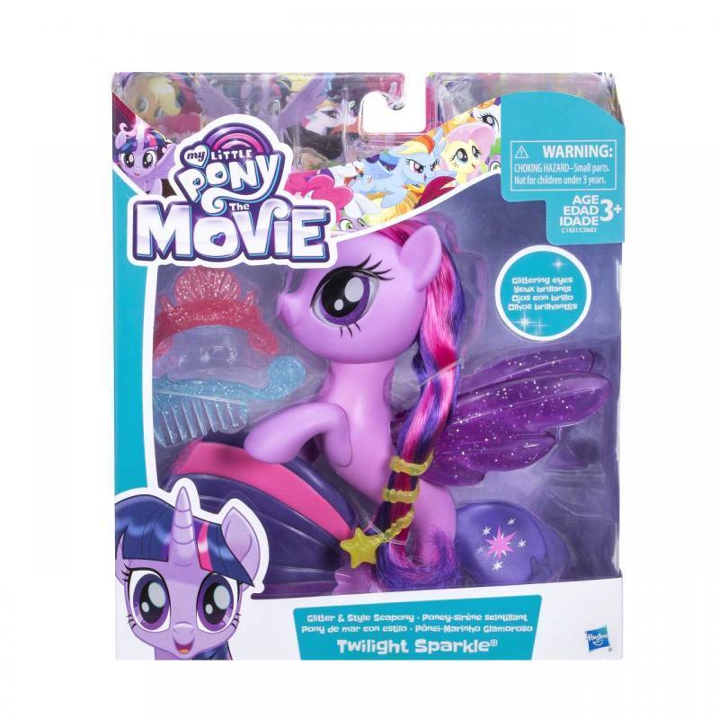 Hasbro My Little Pony Mořský poník s módními doplňky 15cm - Twilight Sparkle