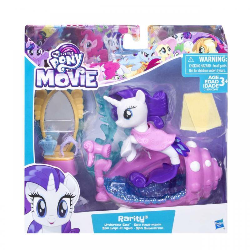 Hasbro My Little Pony Podmořský hrací set s poníkem 7,5 cm - Rarity