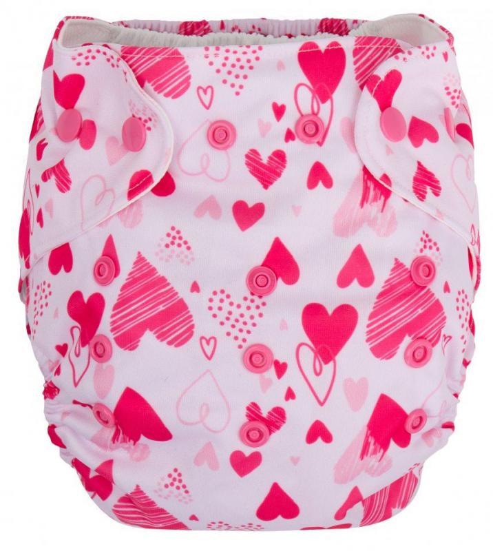 Gmini plenkové kalhotky potisk G7082 - potisk růžová