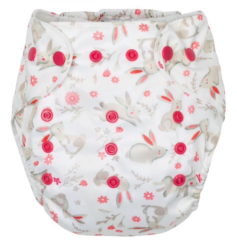 Gmini plenkové kalhotky potisk G7196 - zajíc růžová