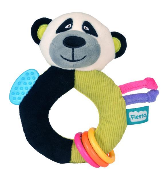 Fiesta Crafts Chrastítko s kousátkem - Panda