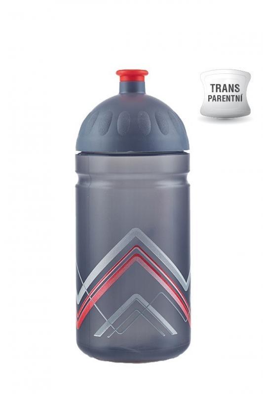 Zdravá lahev BIKE 0,5 l - Hory červená