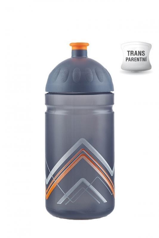 Zdravá lahev BIKE 0,5 l - Hory oranžová