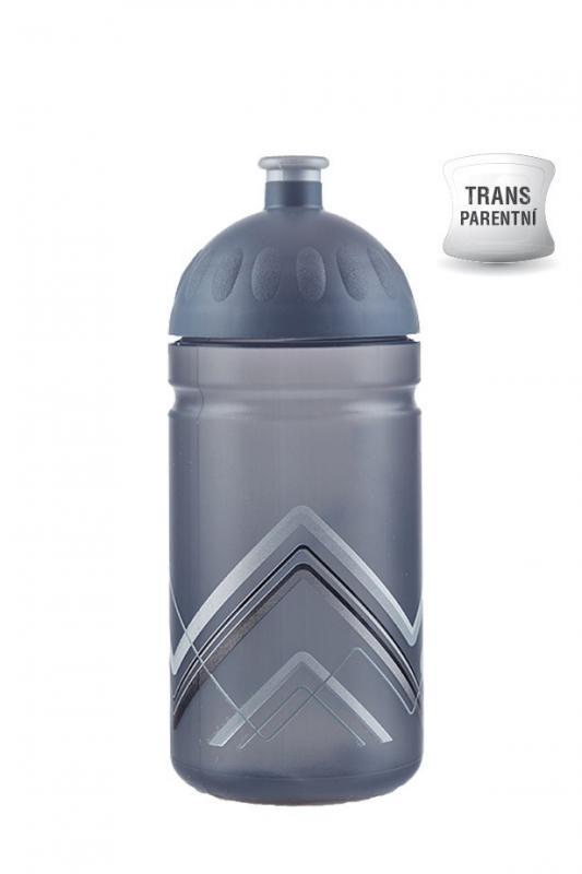 Zdravá lahev BIKE 0,5 l - Hory šedá/ D