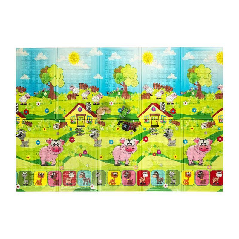 Casmatino multifunkční hrací pěnová podložka pro děti - Piggy