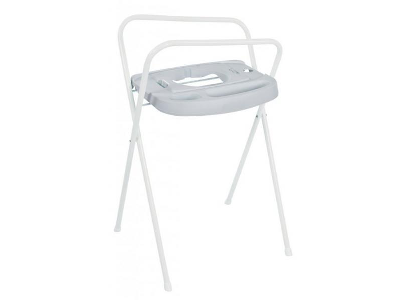 Bébé-Jou kovový stojan Click na vaničku 98 cm - Light Grey