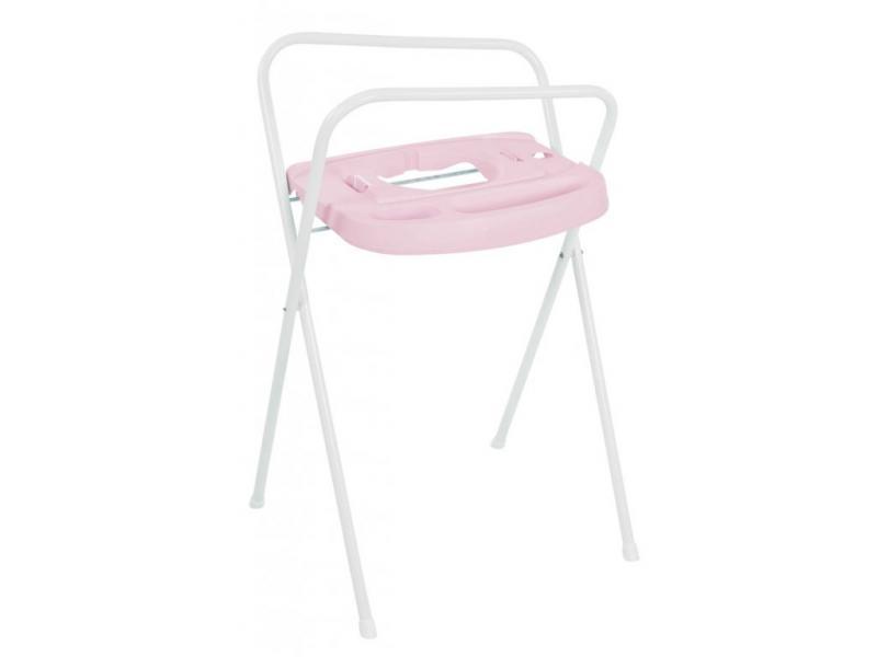 Bébé-Jou kovový stojan Click na vaničku 98 cm - Pretty Pink