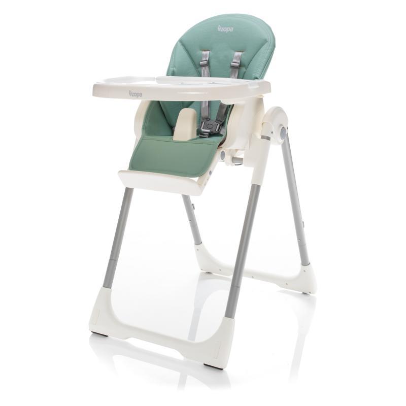 Jídelní židlička Zopa Ivolia - Silver Green
