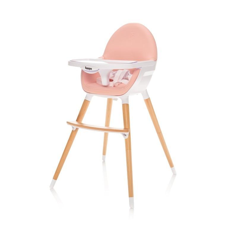 Jídelní židlička Zopa Dolce - Blush Pink