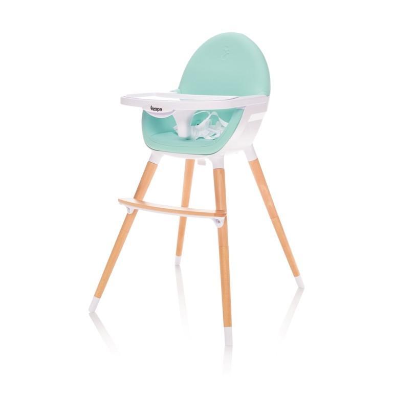 Jídelní židlička Zopa Dolce - Ice Green