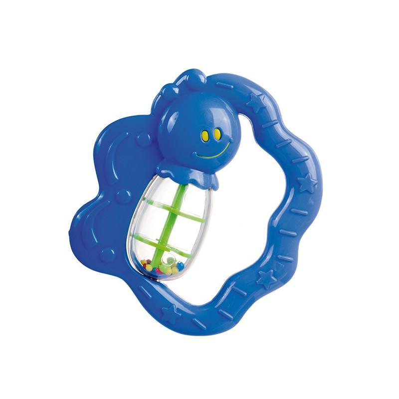 Canpol babies chrastítko šnek/motýl  - Motýl/modrá