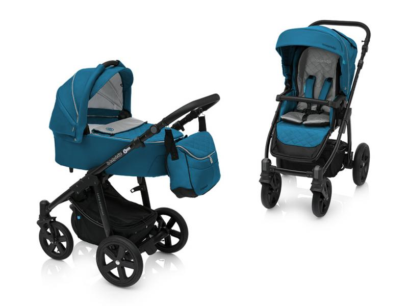 Kočárek Baby Design Lupo Comfort 2018 - 05 turquoise-black