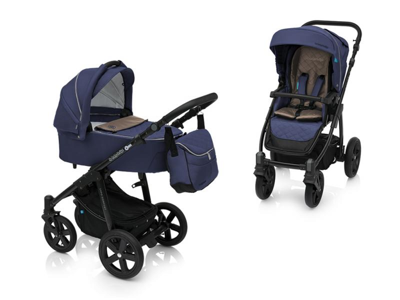 Kočárek Baby Design Lupo Comfort 2018 - 03 navy-black