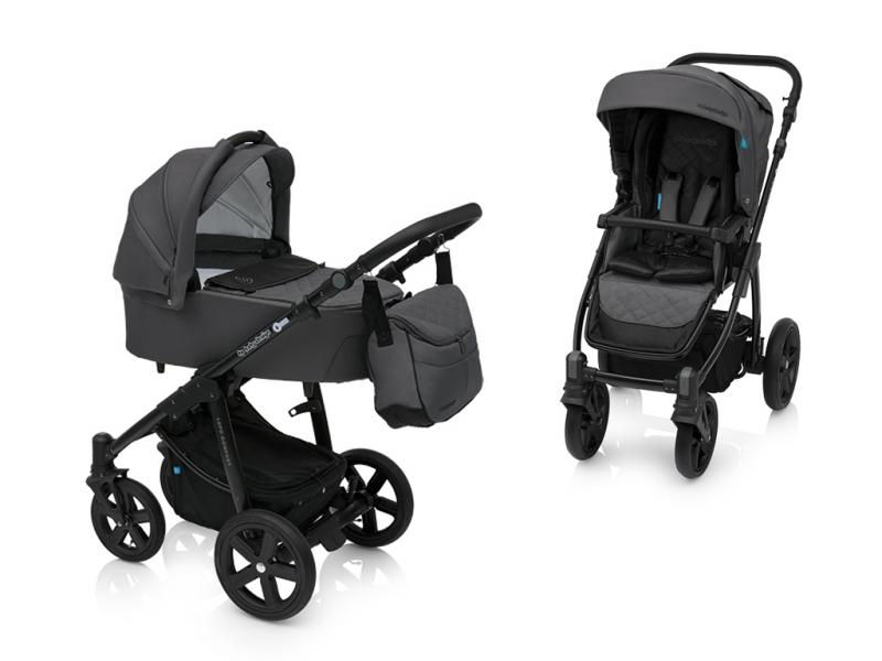 Kočárek Baby Design Lupo Comfort 2018 - 07 graphite-black