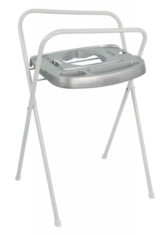 Bébé-Jou kovový stojan Click na vaničku 103 cm - Silver