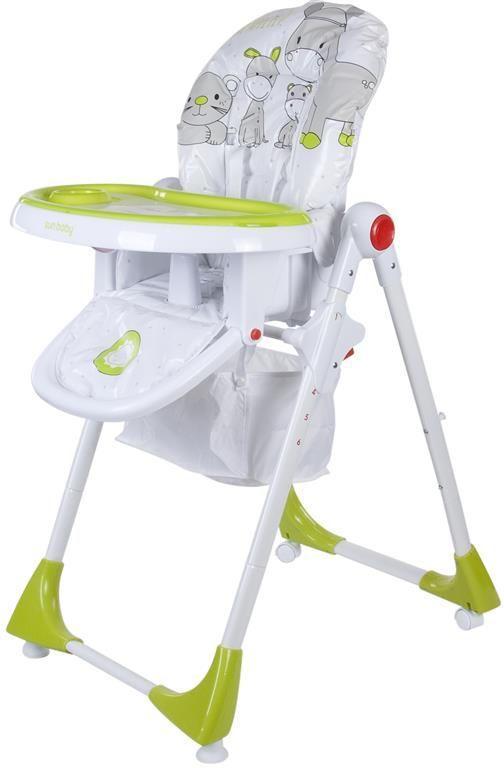 Jídelní židlička Sunbaby Siera - zelená