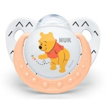 NUK dudlík silikonový Disney Medvídek Pú 0-6m