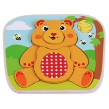 Sunbaby dřevěné puzzle zvířátka