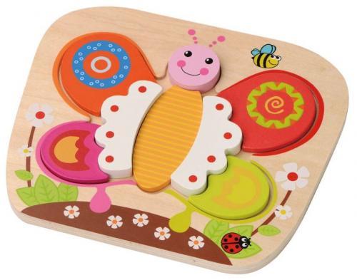 Sunbaby dřevěné puzzle