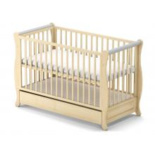 Babysky dřevěná postýlka Gala se šuplíkem