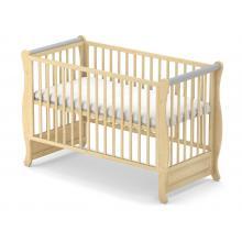 Babysky dřevěná postýlka Gala bez šuplíku
