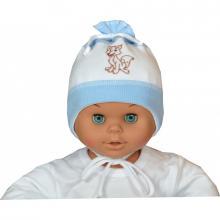 Esito Čepice svetřík bílá/modrá