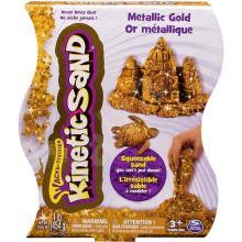 Spin Master Kinetic Sand - Metalický písek 454 g