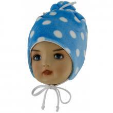 Esito Dětská zimní čepice Puntík modrá