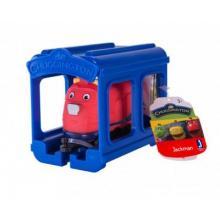 Chuggington - mašinka s garáží - 5 druhů