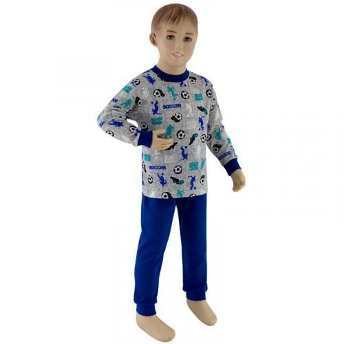 Esito Chlapecké pyžamo fotbal tmavě modrý