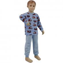 Esito Chlapecké pyžamo hasiči modrá