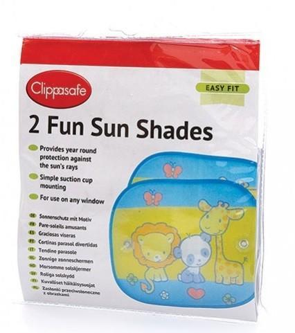 Clippasafe sluneční roleta s přísavkou 2 ks