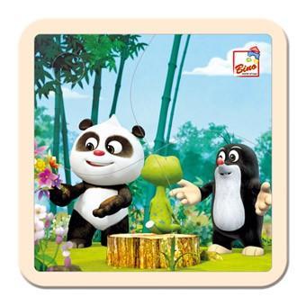 Bino Krtek a Panda puzzle, 4 dílky